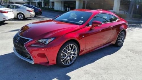 Photo Image Gallery & Touchup Paint: Lexus RC in Infrared    (3T5)  YEARS: 2015-2017