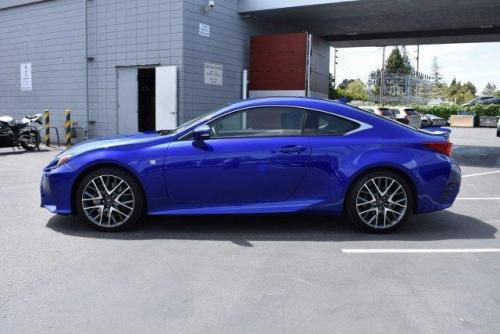 Photo Image Gallery & Touchup Paint: Lexus RC in Ultrasonic Blue Mica2  (8X1)  YEARS: 2015-2017