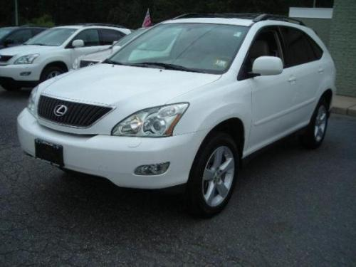 Photo Image Gallery & Touchup Paint: Lexus RX in Crystal White   (062)  YEARS: 2004-2009