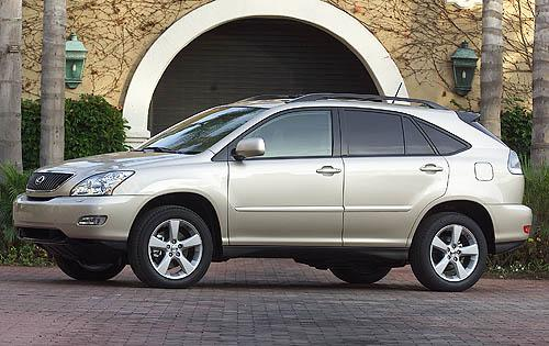 Photo Image Gallery & Touchup Paint: Lexus RX in Millennium Silver Metallic  (1C0)  YEARS: 2004-2008