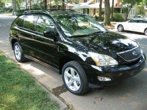 Photo Image Gallery & Touchup Paint: Lexus RX in Black Onyx   (202)  YEARS: 2006-2008