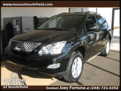 Photo Image Gallery & Touchup Paint: Lexus RX in Obsidian    (212)  YEARS: 2009-2009