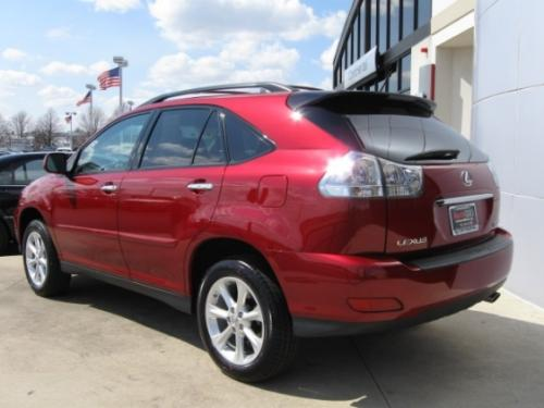 Photo Image Gallery & Touchup Paint: Lexus RX in Matador Red Mica  (3R1)  YEARS: 2008-2008