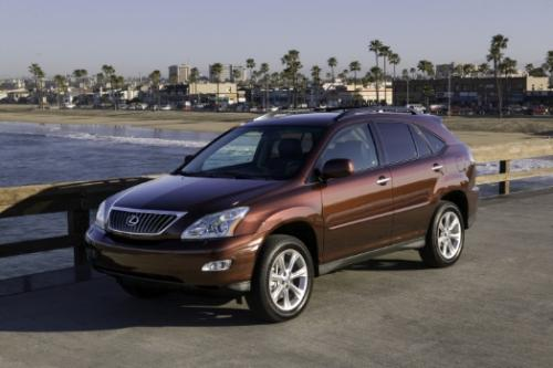 Photo Image Gallery & Touchup Paint: Lexus RX in Brandywine Mica   (4S6)  YEARS: 2008-2009