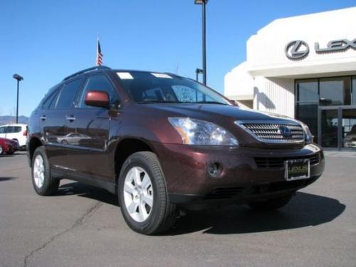 Photo Image Gallery & Touchup Paint: Lexus RX in Brandywine Mica   (4S6)  YEARS: 2008-2008