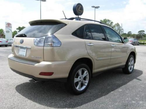 Photo Image Gallery & Touchup Paint: Lexus RX in Golden Almond Metallic  (4T1)  YEARS: 2008-2008