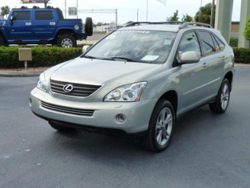 Photo Image Gallery & Touchup Paint: Lexus RX in Bamboo Pearl   (6T1)  YEARS: 2006-2008