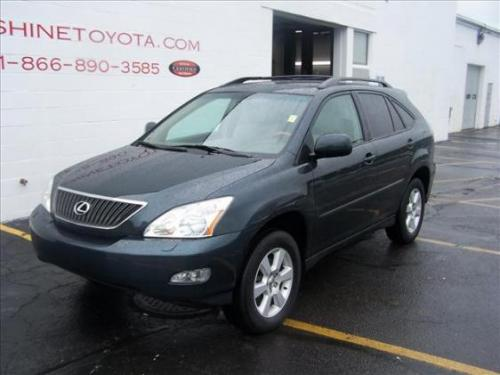 Photo Image Gallery & Touchup Paint: Lexus RX in Black Forest Pearl  (6T3)  YEARS: 2004-2007