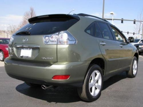 Photo Image Gallery & Touchup Paint: Lexus RX in Desert Sage Metallic  (6U3)  YEARS: 2008-2008