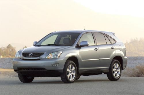 Photo Image Gallery & Touchup Paint: Lexus RX in Breakwater Blue Metallic  (8R6)  YEARS: 2008-2008