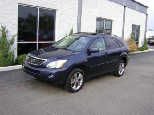 Photo Image Gallery & Touchup Paint: Lexus RX in Neptune Blue Mica  (8R7)  YEARS: 2004-2007