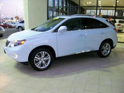 Photo Image Gallery & Touchup Paint: Lexus RX in Aurora White Pearl  (078)  YEARS: 2010-2010