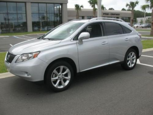 Photo Image Gallery & Touchup Paint: Lexus RX in Tungsten Pearl   (1G1)  YEARS: 2010-2012