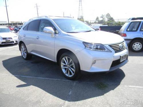 Photo Image Gallery & Touchup Paint: Lexus RX in Silver Lining Metallic  (1J4)  YEARS: 2013-2015
