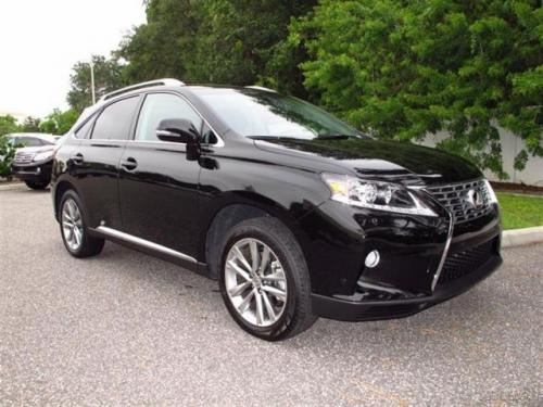 Photo Image Gallery & Touchup Paint: Lexus RX in Stargazer Black   (217)  YEARS: 2011-2015