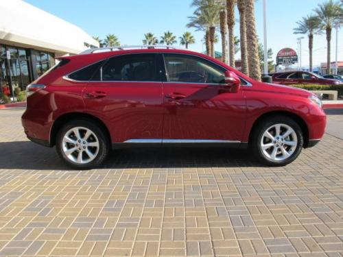 Photo Image Gallery & Touchup Paint: Lexus RX in Matador Red Mica  (3R1)  YEARS: 2010-2012