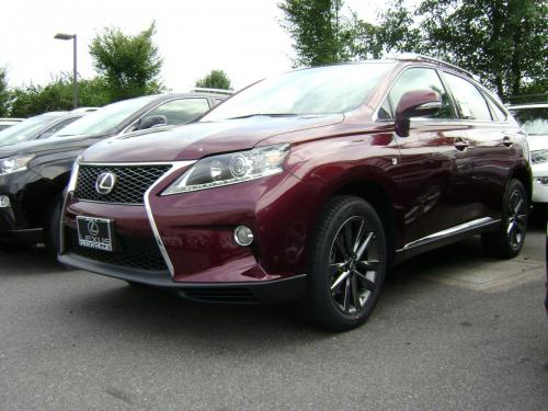 Photo Image Gallery & Touchup Paint: Lexus RX in Claret Mica   (3S0)  YEARS: 2013-2015