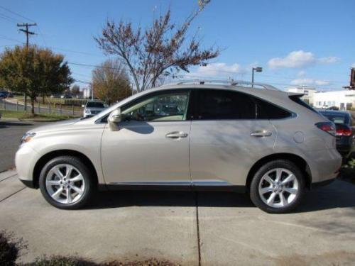 Photo Image Gallery & Touchup Paint: Lexus RX in Satin Cashmere Metallic  (4U7)  YEARS: 2011-2015
