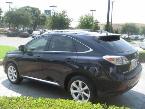 Photo Image Gallery & Touchup Paint: Lexus RX in Black Sapphire Pearl  (8U0)  YEARS: 2010-2010