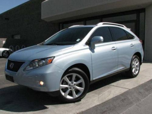 Photo Image Gallery & Touchup Paint: Lexus RX in Cerulean Blue Metallic  (8U9)  YEARS: 2010-2012