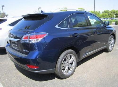 Photo Image Gallery & Touchup Paint: Lexus RX in Deep Sea Mica  (8V3)  YEARS: 2013-2015