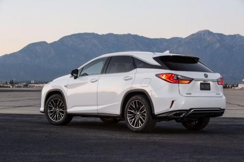 Photo Image Gallery & Touchup Paint: Lexus RX in Ultra White   (083)  YEARS: 2016-2017