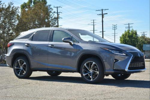 Photo Image Gallery & Touchup Paint: Lexus RX in Nebula Gray Pearl  (1H9)  YEARS: 2016-2017