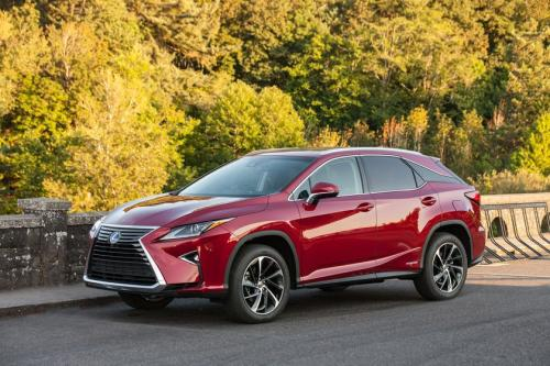 Photo Image Gallery & Touchup Paint: Lexus RX in Matador Red Mica  (3R1)  YEARS: 2016-2017