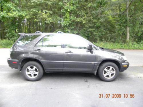 Photo Image Gallery & Touchup Paint: Lexus RX in Graphite Gray Pearl  (1C6)  YEARS: 2002-2002