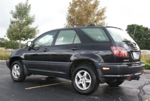 Photo Image Gallery & Touchup Paint: Lexus RX in Black Onyx   (202)  YEARS: 1999-2003