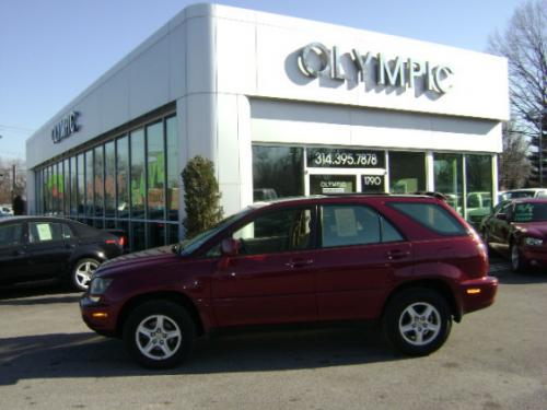 Photo Image Gallery & Touchup Paint: Lexus RX in Venetian Red Pearl  (3M8)  YEARS: 1999-2000