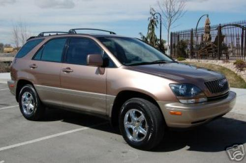 Photo Image Gallery & Touchup Paint: Lexus RX in Desert Bronze Metallic  (4P3)  YEARS: 1999-1999