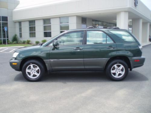 Photo Image Gallery & Touchup Paint: Lexus RX in Woodland Pearl   (6R1)  YEARS: 1999-2003