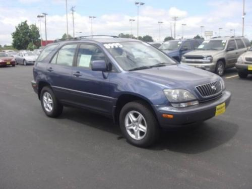 Photo Image Gallery & Touchup Paint: Lexus RX in Twilight Blue Pearl  (8M8)  YEARS: 1999-2000