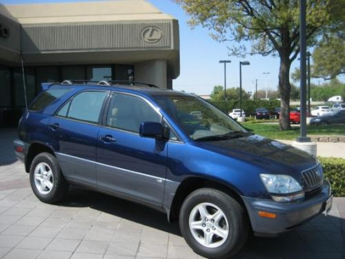 Photo Image Gallery & Touchup Paint: Lexus RX in Indigo Ink Pearl  (8P4)  YEARS: 2001-2003