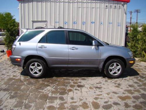 Photo Image Gallery & Touchup Paint: Lexus RX in Blue Vapor Metallic  (8P6)  YEARS: 2001-2003