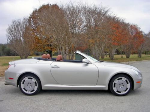 Photo Image Gallery & Touchup Paint: Lexus SC in Millennium Silver Metallic  (1C0)  YEARS: 2002-2005