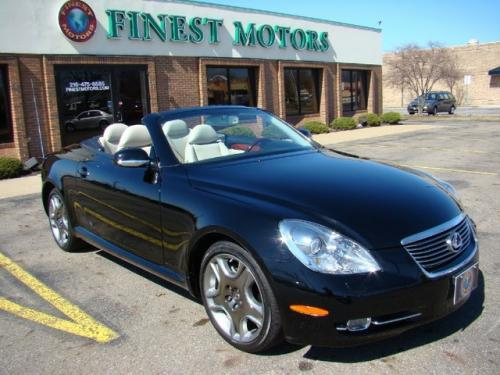 Photo Image Gallery & Touchup Paint: Lexus SC in Black Onyx   (202)  YEARS: 2002-2006
