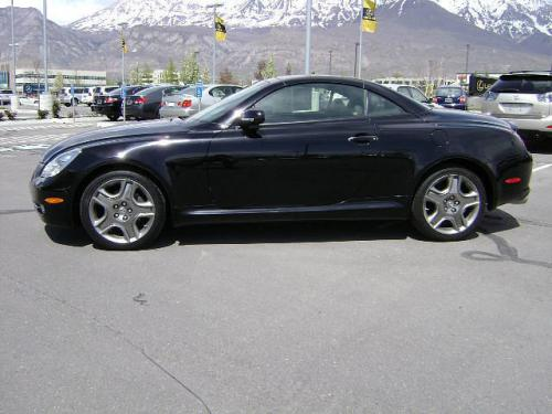 Photo Image Gallery & Touchup Paint: Lexus SC in Obsidian    (212)  YEARS: 2007-2010