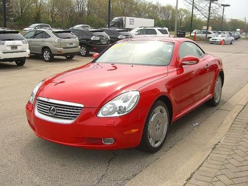 Photo Image Gallery & Touchup Paint: Lexus SC in Absolutely Red   (3P0)  YEARS: 2002-2005