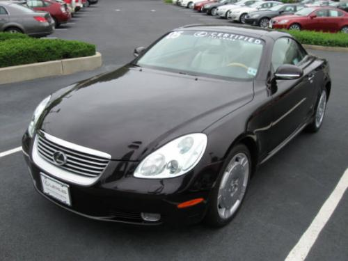 Photo Image Gallery & Touchup Paint: Lexus SC in Twilight Amethyst Pearl  (3P6)  YEARS: 2002-2008