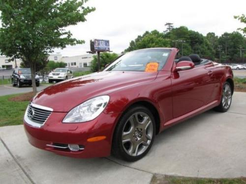 Photo Image Gallery & Touchup Paint: Lexus SC in Matador Red Mica  (3R1)  YEARS: 2006-2010