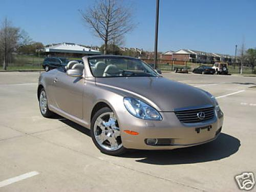 Photo Image Gallery & Touchup Paint: Lexus SC in Egyptian Sand Pearl  (4Q8)  YEARS: 2002-2005