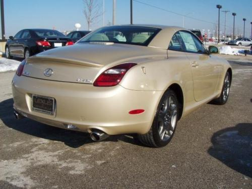 Photo Image Gallery & Touchup Paint: Lexus SC in Golden Almond Metallic  (4T1)  YEARS: 2008-2010
