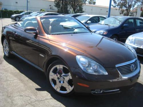Photo Image Gallery & Touchup Paint: Lexus SC in Tigereye Mica   (4T2)  YEARS: 2006-2009