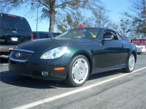 Photo Image Gallery & Touchup Paint: Lexus SC in Midnight Pine Pearl  (6S6)  YEARS: 2002-2005