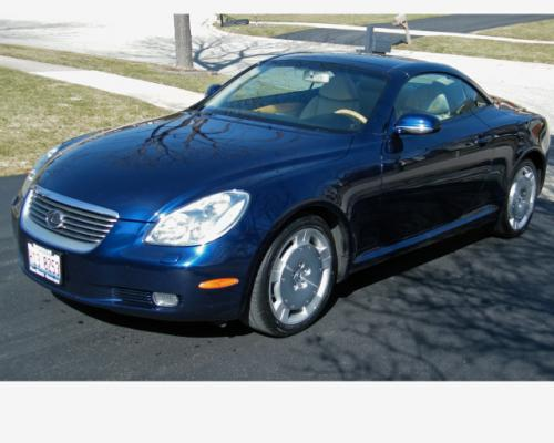 Photo Image Gallery & Touchup Paint: Lexus SC in Indigo Ink Pearl  (8P4)  YEARS: 2002-2006