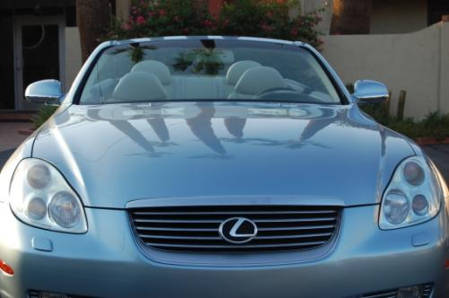 Photo Image Gallery & Touchup Paint: Lexus SC in Azure Pearl   (8Q6)  YEARS: 2004-2004