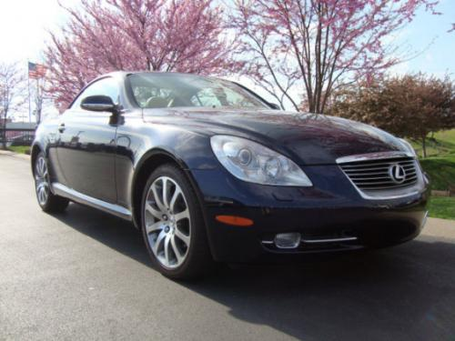 Photo Image Gallery & Touchup Paint: Lexus SC in Black Sapphire Pearl  (8U0)  YEARS: 2007-2010