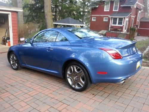 Photo Image Gallery & Touchup Paint: Lexus SC in Costa Azul Mica  (8U4)  YEARS: 2010-2010